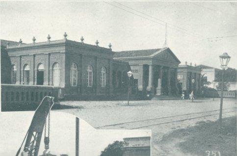 72be15c9ea94a A estação Central de Fortaleza, em 1922. Foto Revista Ilustração Brasileira