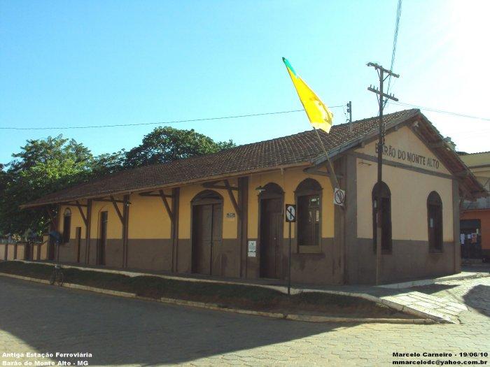 Barão de Monte Alto Minas Gerais fonte: www.estacoesferroviarias.com.br