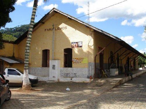 Faria Lemos Minas Gerais fonte: www.estacoesferroviarias.com.br