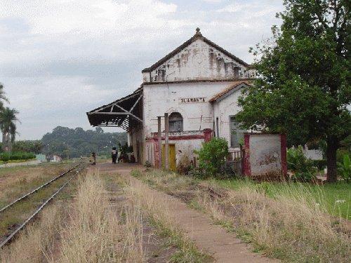 Guarantã São Paulo fonte: www.estacoesferroviarias.com.br