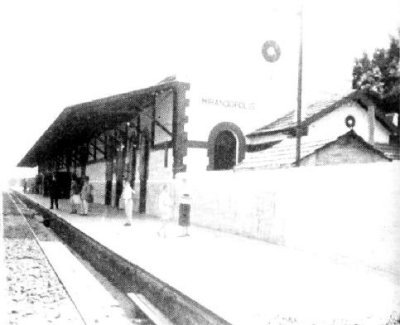 A estação, sem data. Foto cedida por Marcello Tálamo