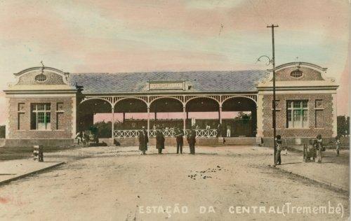 fotos antigas do jardim tremembe:. Foto do livro de Carlos Cornejo e Eduardo Gerodetti, Lembranças do